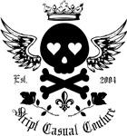 Skull and Crossbones w/Wings