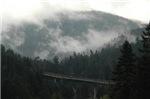 Bridge with Mist
