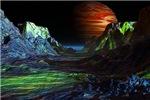 Landscape before Jupiter