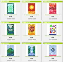 Feng Shui 9 Life Areas Vibrational Cures Posters