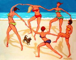 Beach Happy Dance