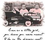 Little Girl and Firetruck