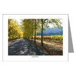 Napa Valley Turning Leaf Greeting Cards