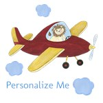 Personalized Airplanes - Animal Pilots
