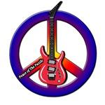 Peace Guitar - Color