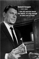 Political Humor: Ronald Reagan on the Deficit