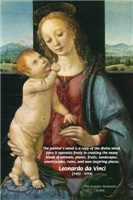 Madonna by Leonardo da Vinci: Painter's Mind Quote