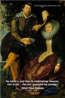 Peter Paul Rubens Self Portrait Art & Quote
