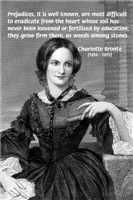Charlotte Bronte: Prejudice & Education