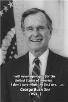 George W. Bush senior: USA Politics