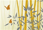 Bamboo and Butterflies