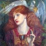 Damsel Sanct Grael by Rossetti