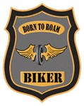 Born To Roam Vintage Patch