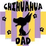 Chihuahua Dad Yellow/Purple Stripe