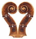 Violin Scroll Heart