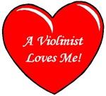 A Violinist Loves Me