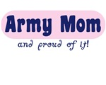 Army Mom Pink Proud