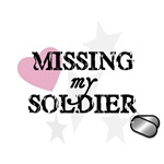 Missing My Soldier - distressed