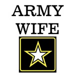 Army Wife (Black & Gold)