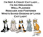 Rescuer and Fosterer Cat Lady