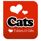 I Love Cats T-shirts & I Heart Cats T-shirts