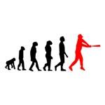Baseball Evolution Red