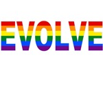EVOLVE in Rainbow Colors