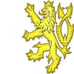 Heraldic Lion in Gold