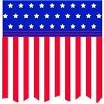 American Flag Banner Style