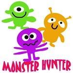 Monster Hunter Cute Halloween Tee for Kids