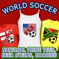 World Soccer T-shirts, Hoodies, Steins