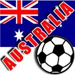 World Soccer Australia Team T-shirts