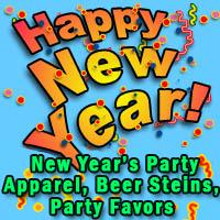 2016 Happy New Year T-shirts, Beer Steins, Buttons