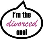 I'm the divorced one!