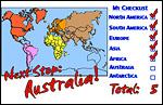 N & S. America, Europe, Africa, Asia