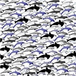Swim in Dolphins Pattern B