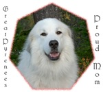 Great Pyrenees Proud Mom