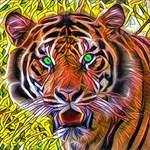 Striking Tiger