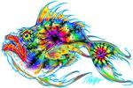 Multicolor and Tie Dye Mean Fish