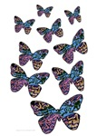Fanciful Flying Butterflies