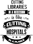 Cutting libraries in a recession