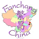 Fanchang China Color Map