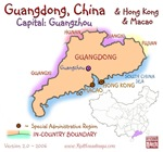 Guangdong, China mini Map