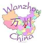 Wanzhou Color Map, China