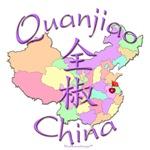 Quanjiao China Color Map