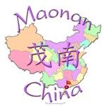 Maonan China Color Map