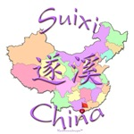 Suixi China Color Map