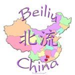 Beiliu China Color Map