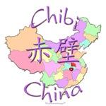 Chibi Color Map, China