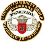 7th SFG Airborne Bdge w Flash